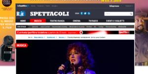 Teatro Brancaccio, Vidra, Fiorella Mannoia, Concerti Romani, La Repubblica, Amedeo Minghi, Trimotore Idrovolante, Synthpop